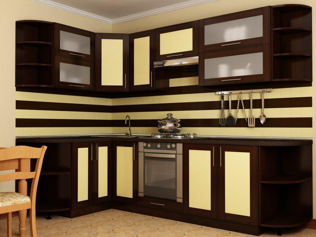угловые кухни, дизайн фото хабаровск