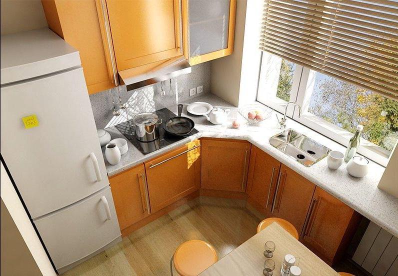 разные цвета кухонных гарнитуров