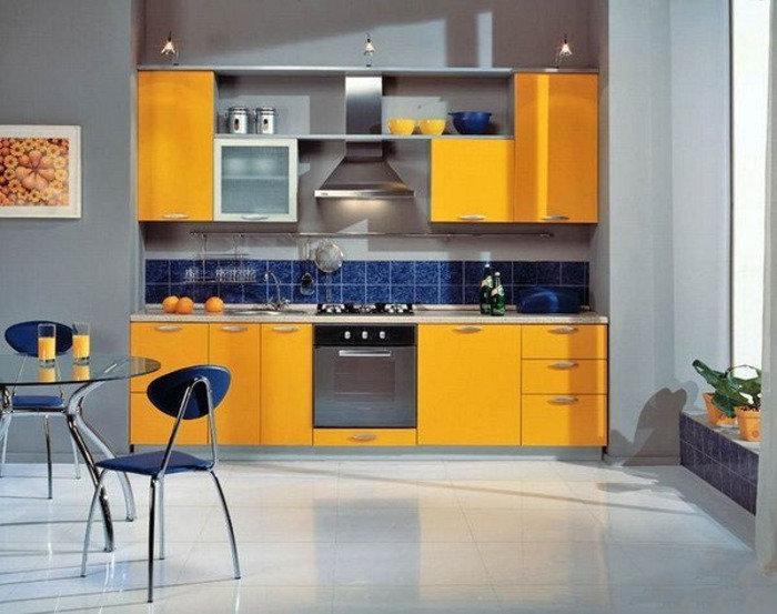 как выбрать цвет кухни фото