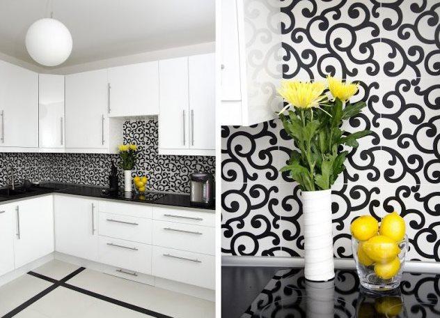 кухни разных цветов фото