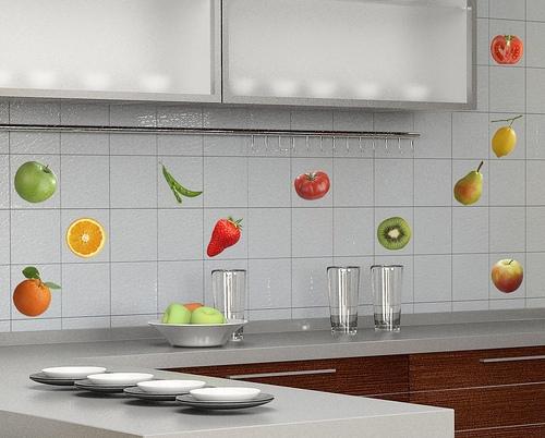 кафельная плитка - дизайн, фото
