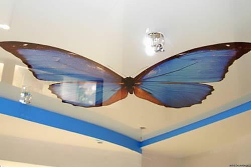 дизайн кухни потолки цвета и интерьер