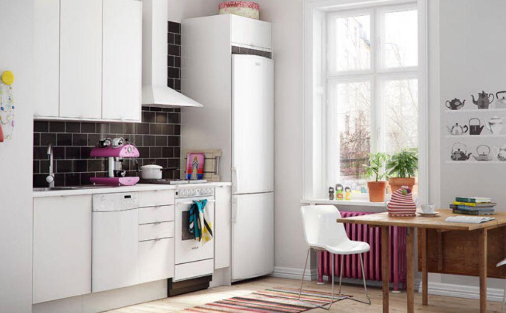 кухни белого цвета фото