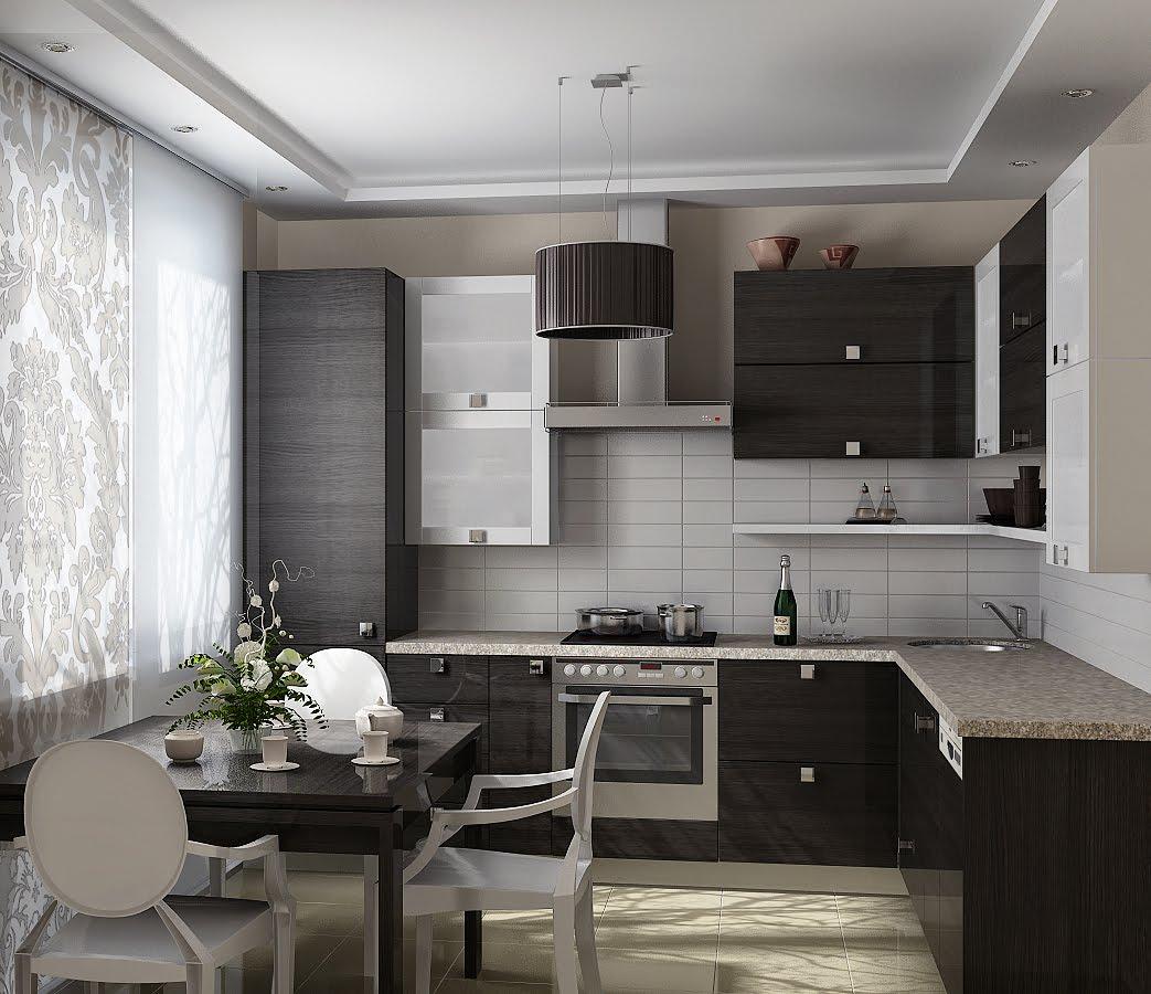дизайны классических кухонь фото 9 кв метров #3