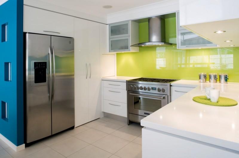 сиреневые кухни фото дизайн интерьер