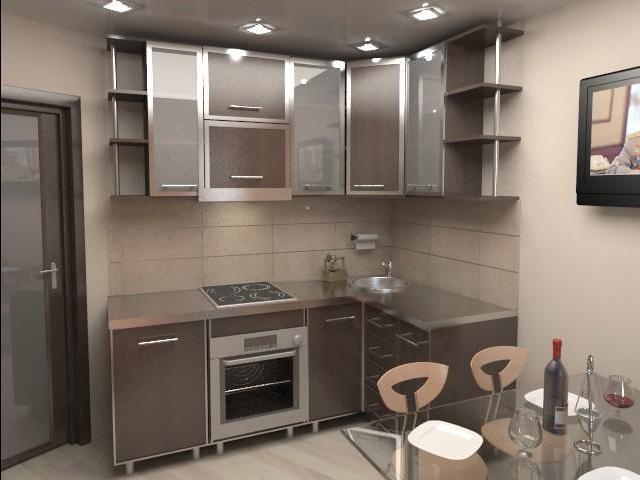 дизайны классических кухонь фото 9 кв метров #13