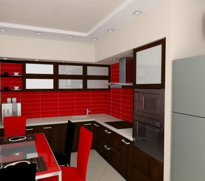 кухни фото, цвет стен на кухне