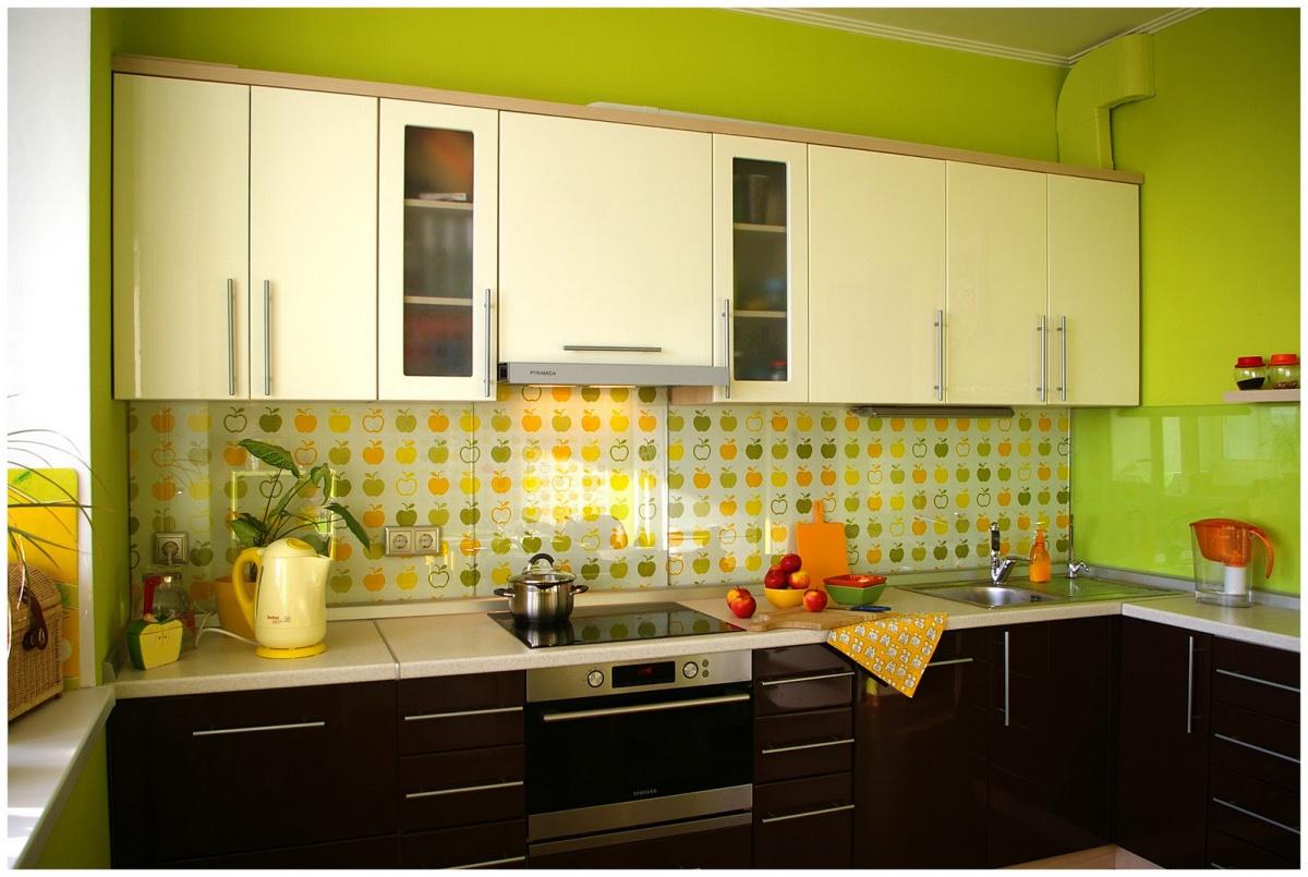 панели на кухне наклейки
