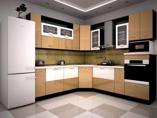 угловые кухни фото интерьеров
