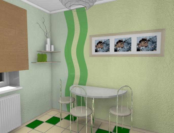 обои для кухни интерьер дизайн фото