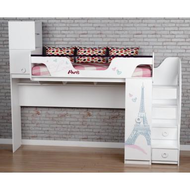 Кровать Модница-4 (правая/левая) New
