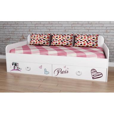 Кровать коллекции мебели Модница-6 NEW