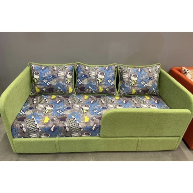 диван-кровать Киви (ткань филин деним)