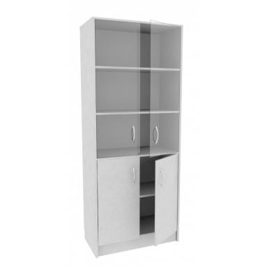 Шкаф со стекл. А-стл310 (с)