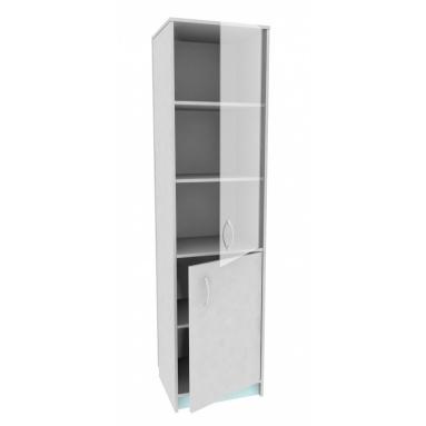 Шкаф со стекл.А-стл321 (с)