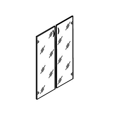 Комплект дверей из ЛДСП (к шкафу А-310)