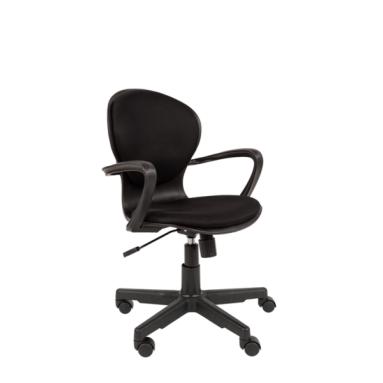 Кресло РК 14 TW-12 серый, черный пластик