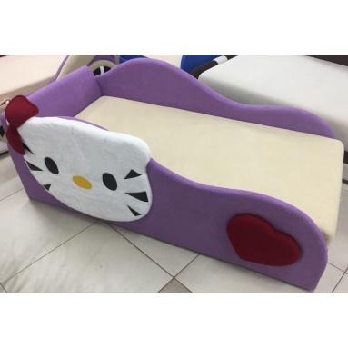 диван-кровать Котенок (ткань астра сирень)