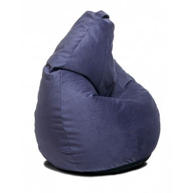 Кресло-мешок Home, Фиолетовый, Велюр
