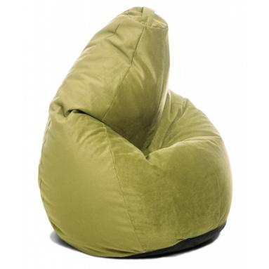 Кресло-мешок Home, Салатовый, Велюр