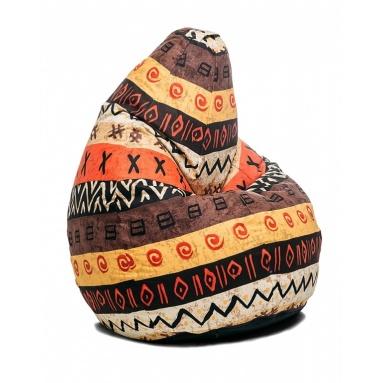 Кресло-мешок Junior, Africa, Жаккард