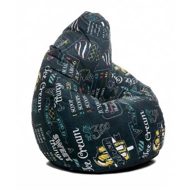 Кресло-мешок Junior, Ice Cream, Жаккард