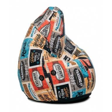 Кресло-мешок Junior, Label, Жаккард
