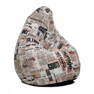 Кресло-мешок Junior, News, Жаккард