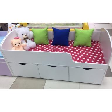 Кровать Малыш (белая)
