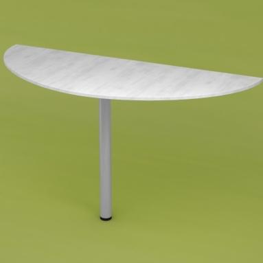 Стол приставной RD 018 (выбеленное дерево)