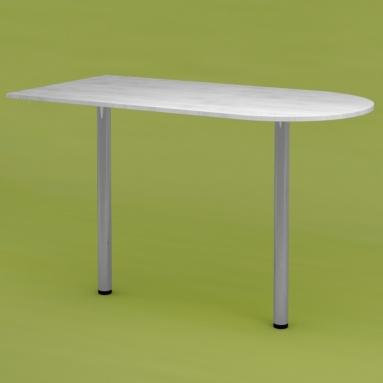 Стол приставной RDU-120 (выбеленное дерево)