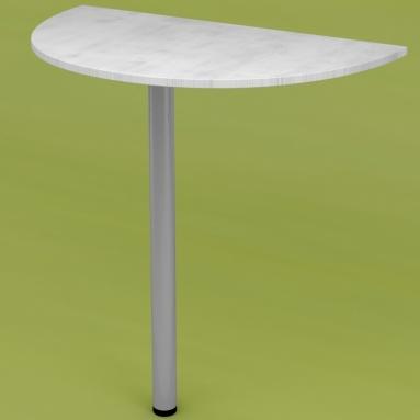 Стол приставной RDU-70 (выбеленное дерево)