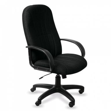 Кресло руководителя Бюрократ T-898AXSN/Black черный 8011 ткань