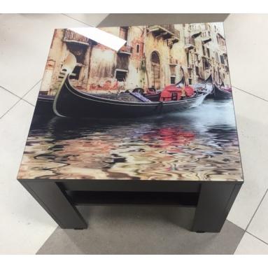 Стол СЖ-11 Венеция (стекло+фотопечать)