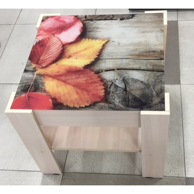 Стол СЖ-2 Осень (стекло+уф печать)