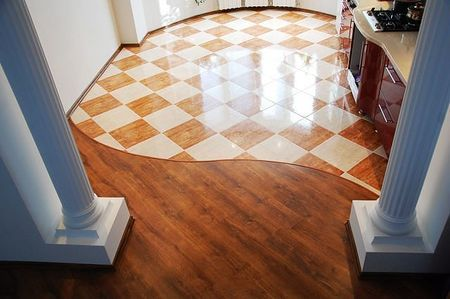 кафельная плитка для пода кухни