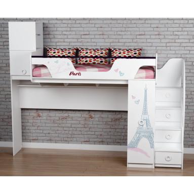Кровать-чердак Модница-4 New