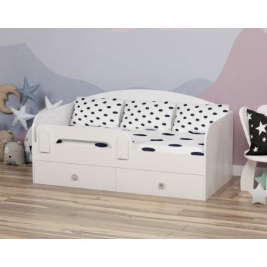 Кровать Умка Мини (цвет: белый)