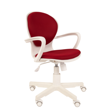 Кресло РК 14 TW-13 бордо, белый пластик