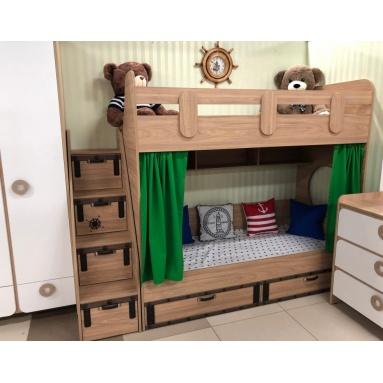 Кровать коллекции Фрегат-7 (правая/левая)