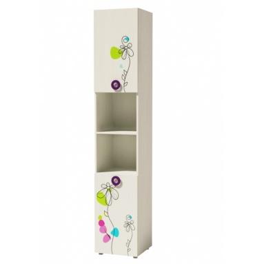Шкаф-пенал 2 Цветы New