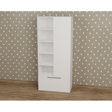 Шкаф-стеллаж коллекции Мозаика-2