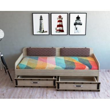 Кровать коллекции Фрегат-6