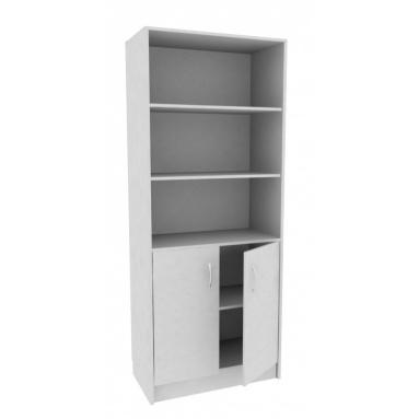 Шкаф офисный А-310 (серый цвет)