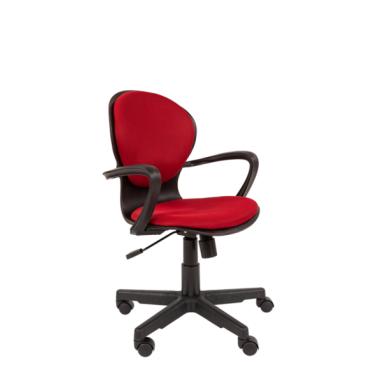 Кресло РК 14 TW-13 бордо, черный пластик