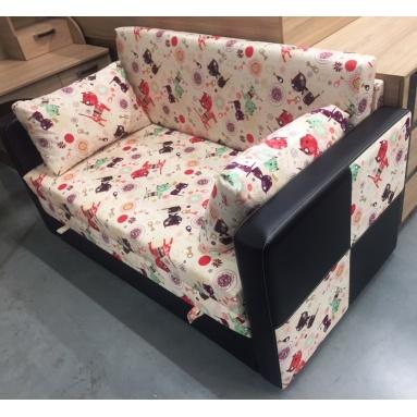 раскладной диван Лотос (ткань котики)