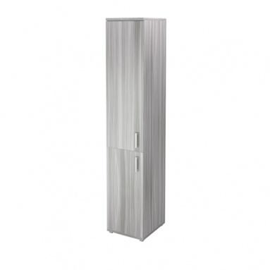 Стеллаж НТ-540 (400х445х2050) с дверьми ЛДСП НТ-600 и НТ-601