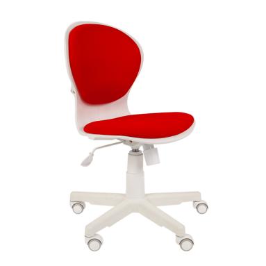 Кресло РК-14 (красный, белый пластик)