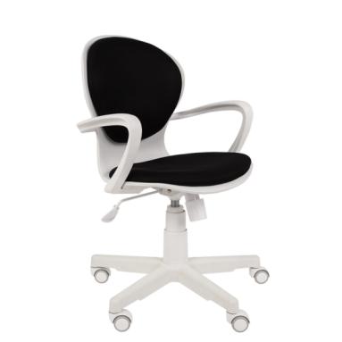 Кресло РК 14 TW-12 серый, белый пластик
