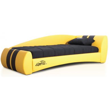 Формула-2 кровать (экокожа)